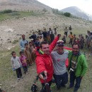 Landing with Veso at Shigar valley